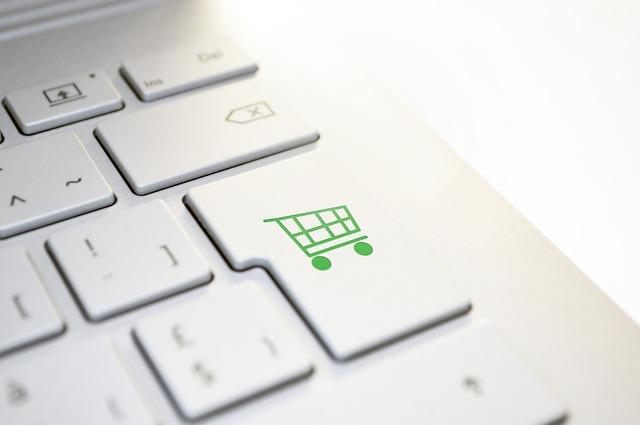 Tastatur & Einkaufswagen